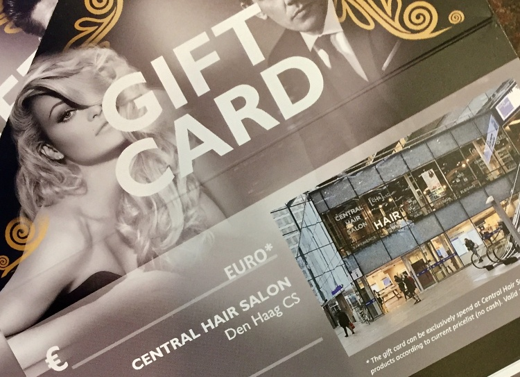 Giftcard at Central Hair Salon